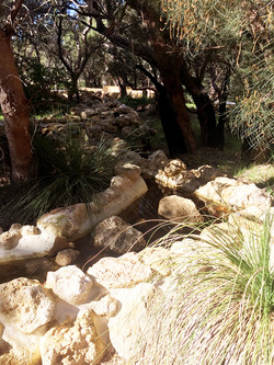 Pinaroo Cemetery Water Feature