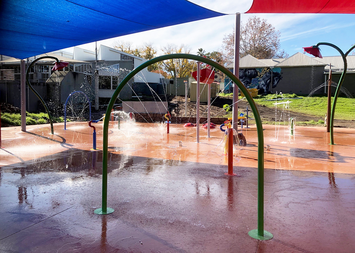 Benalla Water Playground