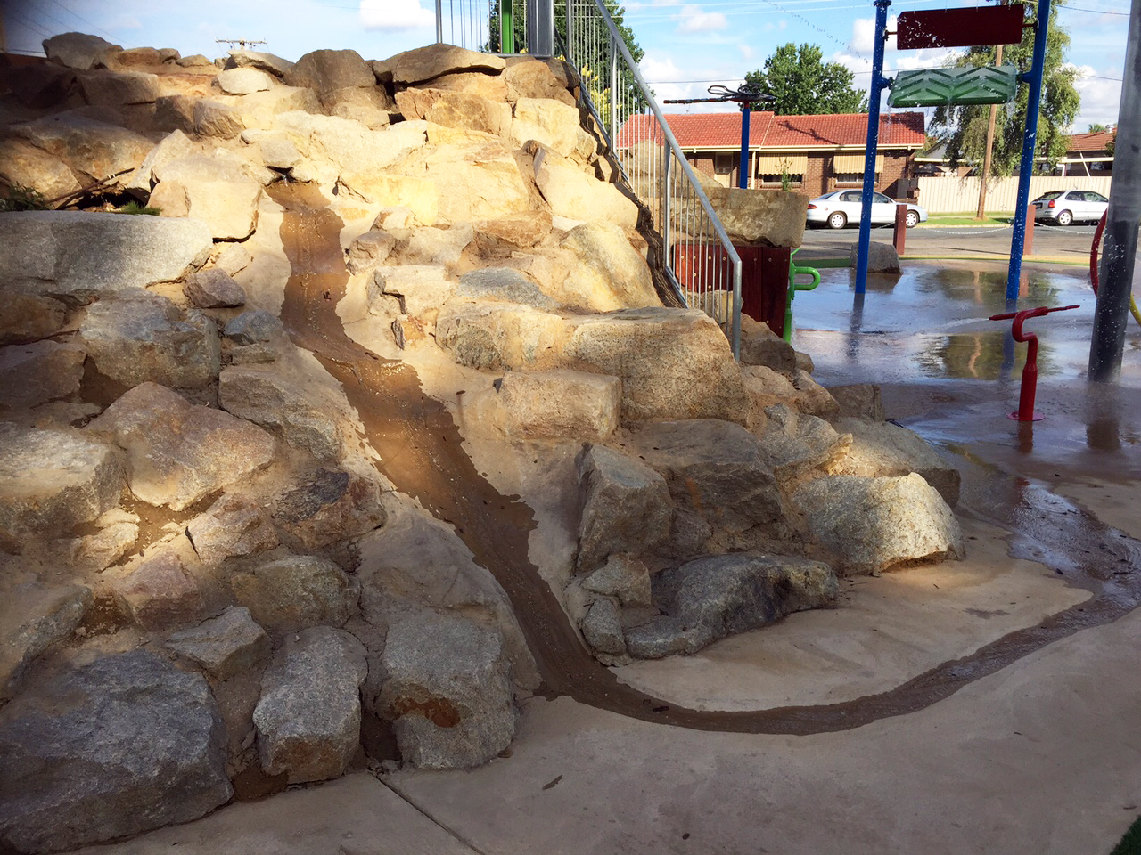 Wangaratta Water Playground