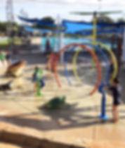 Water playground Hinchinbrook