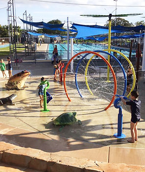 Water playground Hinchinbrook