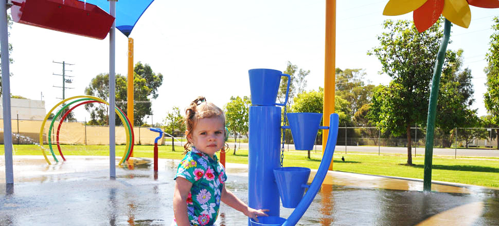 Deniliquin splash park