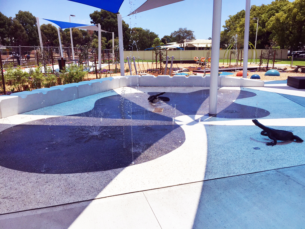 Collie Splash Pad