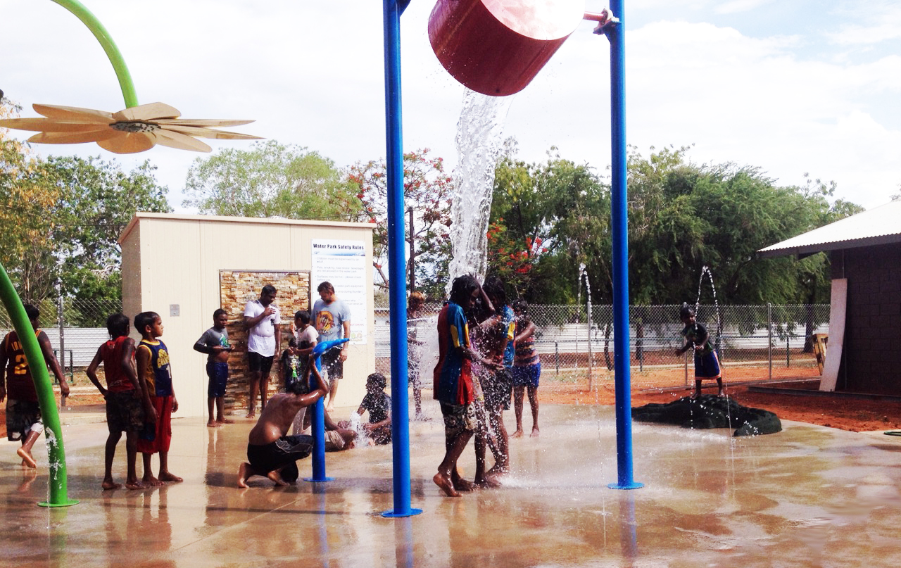 Ali Curung Water playground