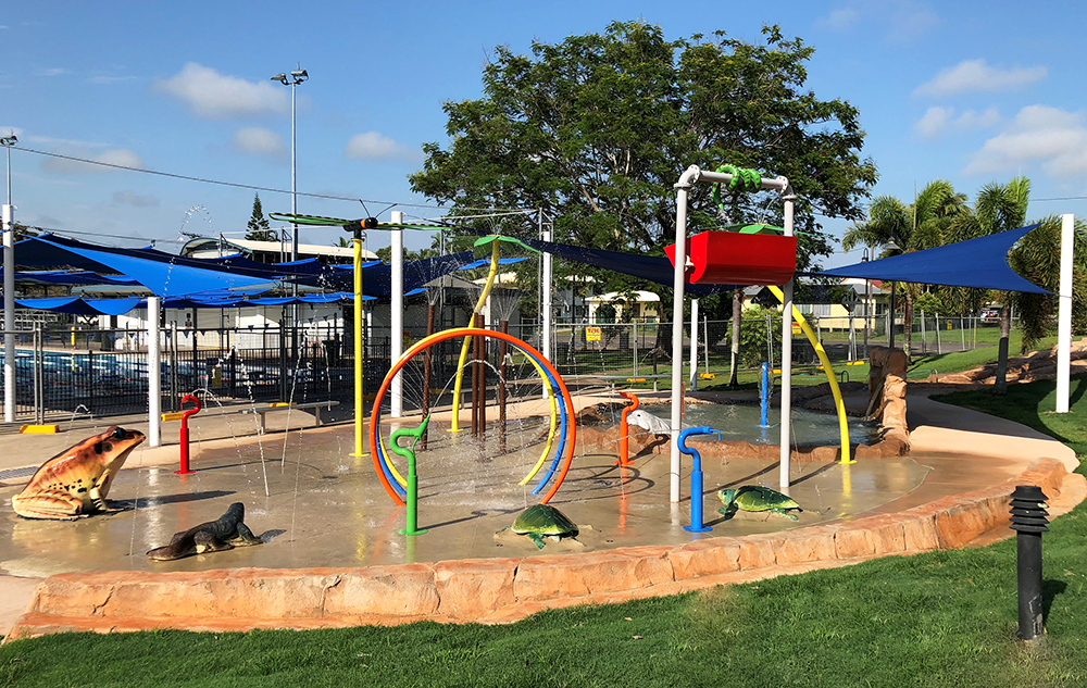 Hinchinbrook water playground
