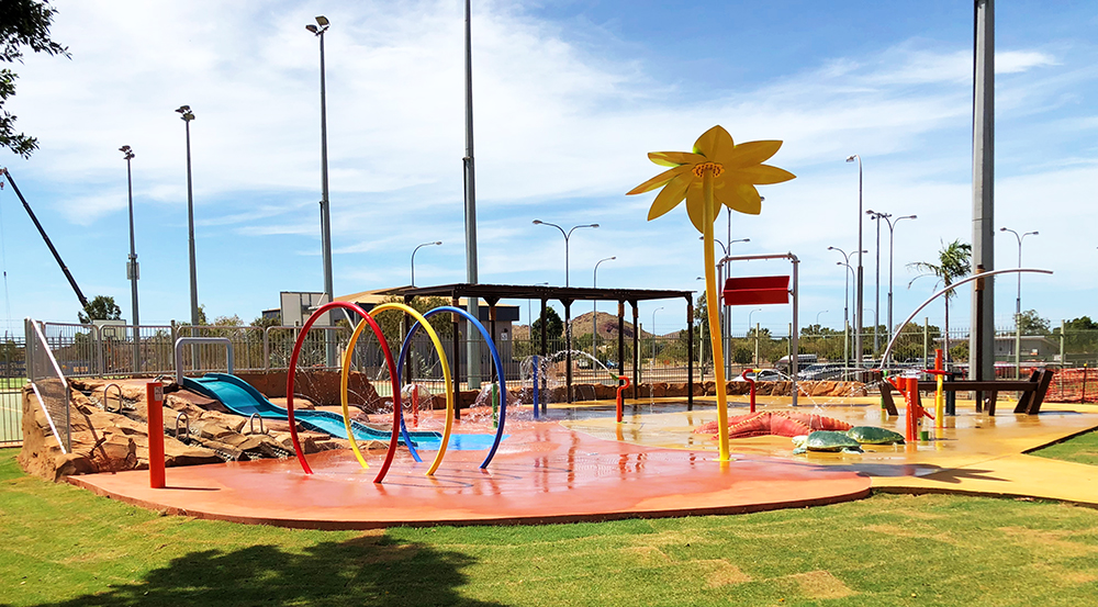 Wickham Water Playground