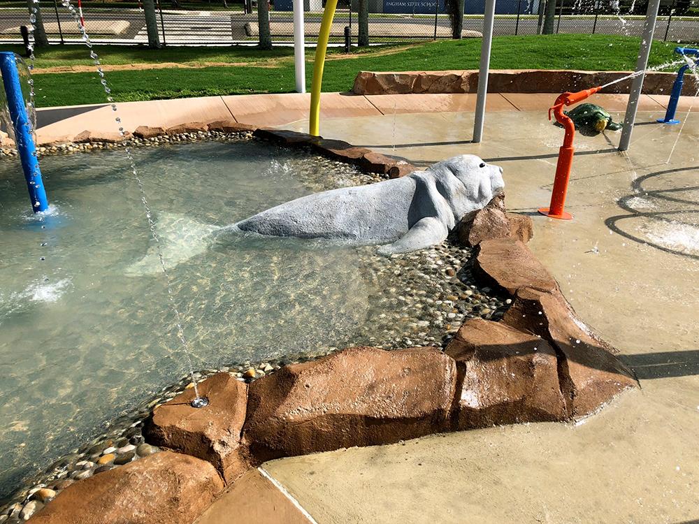Hinchinbrook water playground