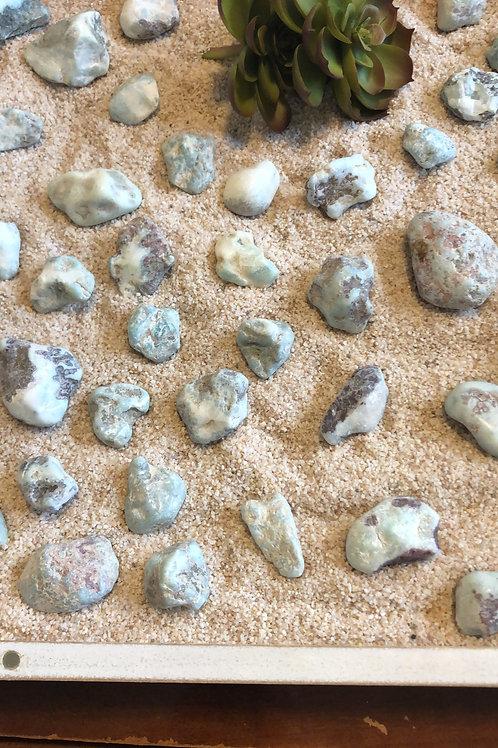 Large Raw Larimar Stone