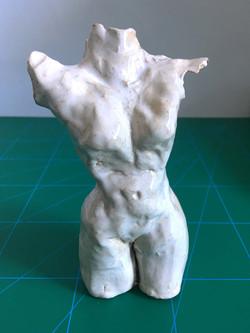 Ceramic torso_1 front