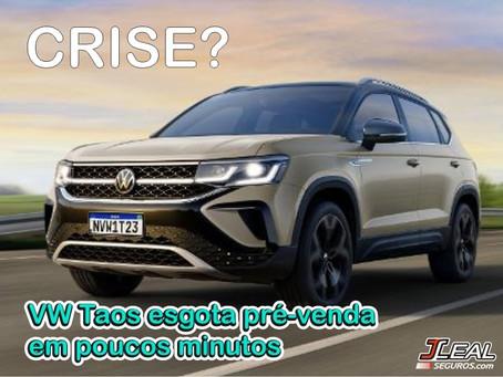 Volkswagen Taos: sucesso de vendas logo na estréia!