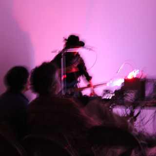 performance by resident artist David Linton