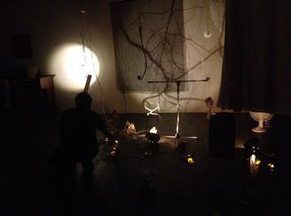 Khristian Weeks installation performance