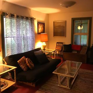 living room w/ double futon