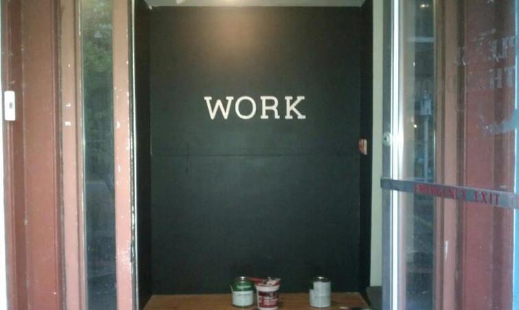 WORK ENTRANCE 2012