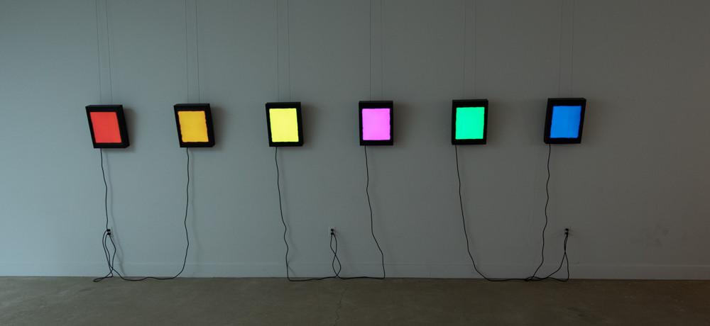Video Monochromes, Series 7