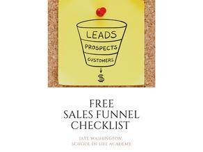 Sales Funnel Checklist