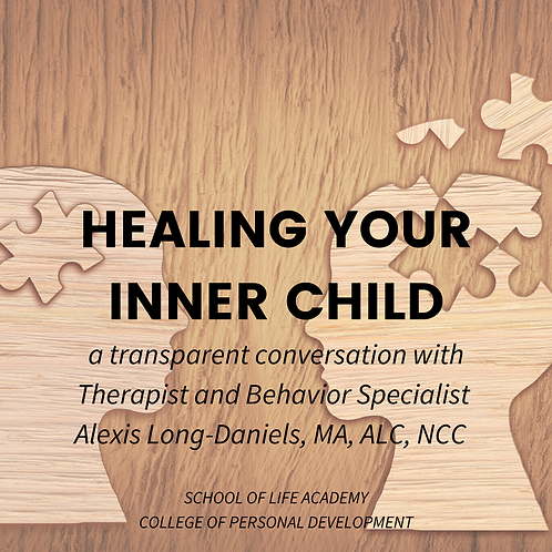 Healing Your Inner Child- Exclusive Interview