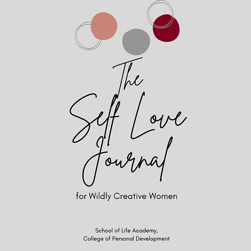 Self-Love Journal for Wildly Creative Women
