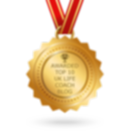 Awarded Top 10 life coach blogger