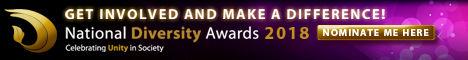 National Diversity Awards Nominee