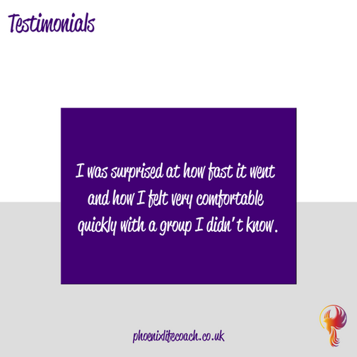 Testimonial from THRIVE Programme