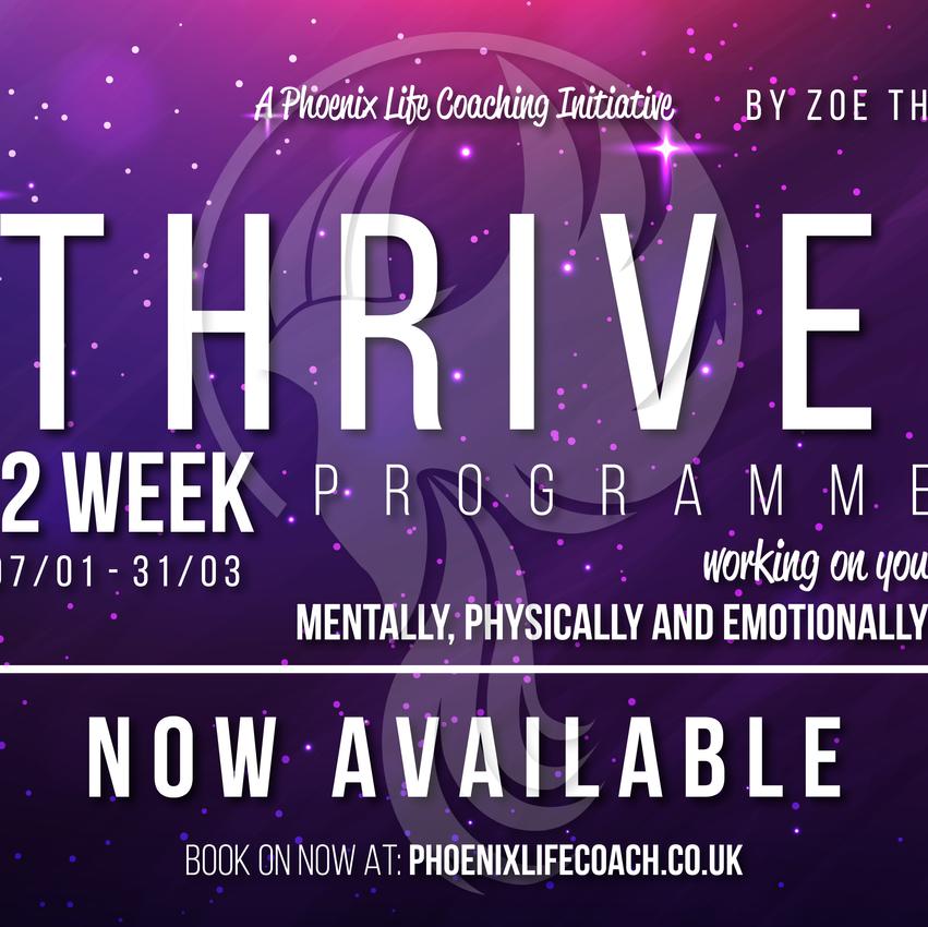 Thrive - 12 Week Online Programme