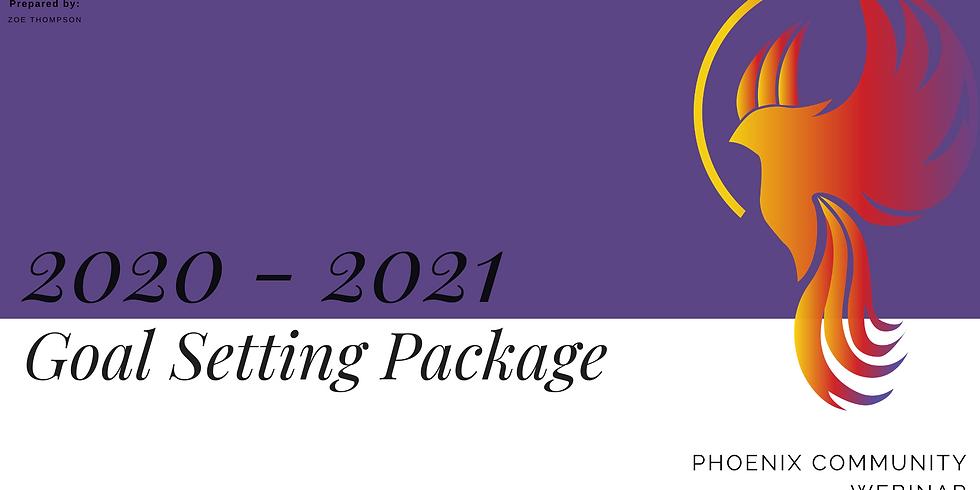 Goal Setting 2020-2021 Workshop Package