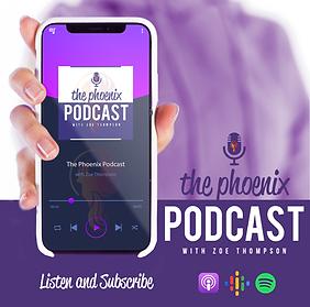 The Phoenix Podcast with Zoe Thompson UK Lifecoach