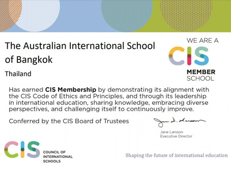 AISB is now a full member of the Council of International Schools