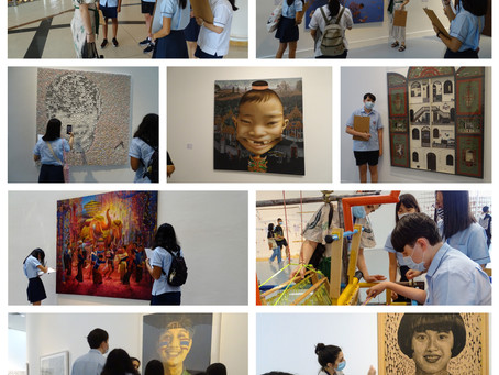 Year 9 and 10 Art and Design Excursion