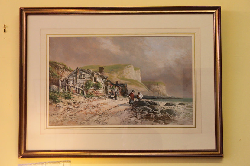 Watercolour by Henry Valter