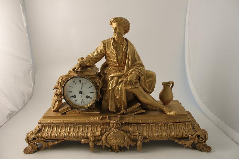 Early 19th century ormolu mantel clock