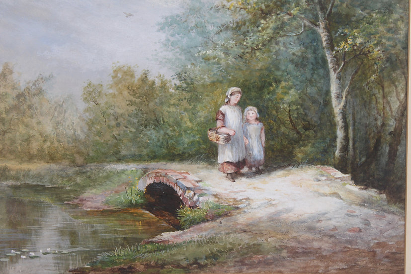 Victorian watercolour