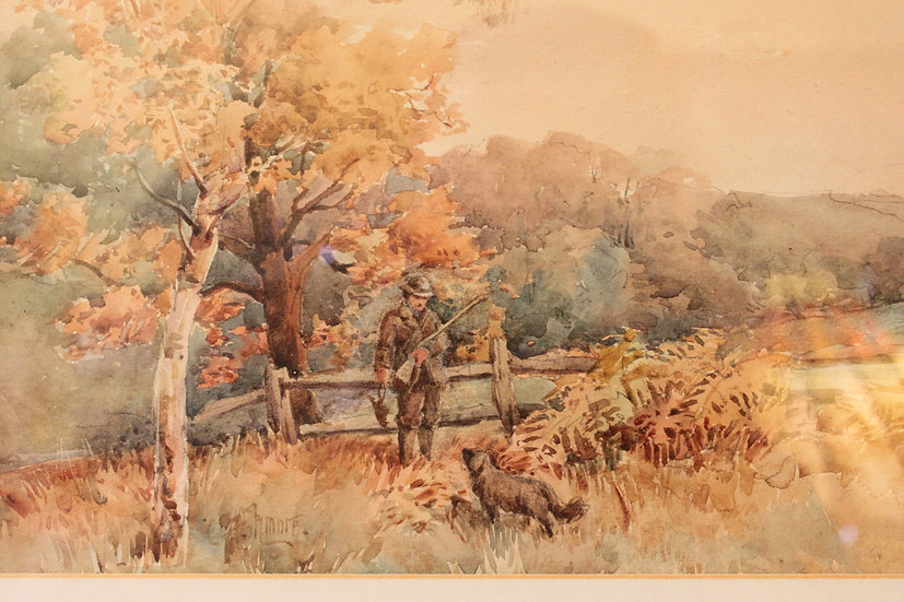 Watercolour by Charles Ashmore.