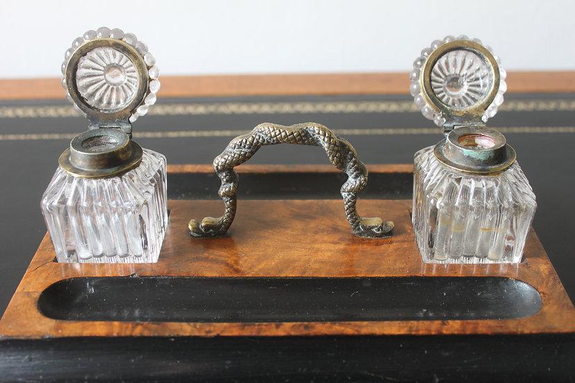 Victorian desk standish
