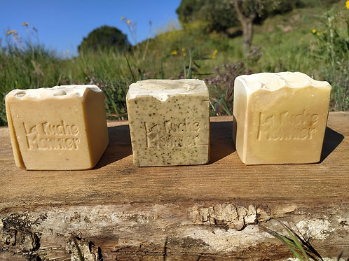 Savons au miel artisanaux saponifiés à froid