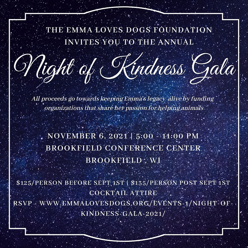 Night of Kindness Gala 2021