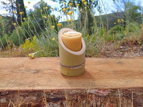 Bougie pure cire d'abeille