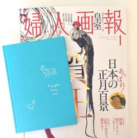婦人画報 2017年1月号 付録 『開運ダイアリー』Illustration