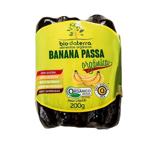 Banana passa orgânica 200g