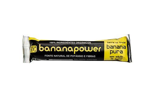 Barra de banana pura