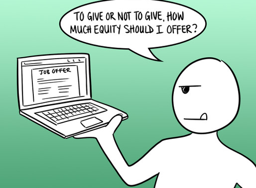 To Give or Not to Give: How Much Equity Should I Offer?
