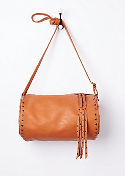 SATCHEL BAG-BRN