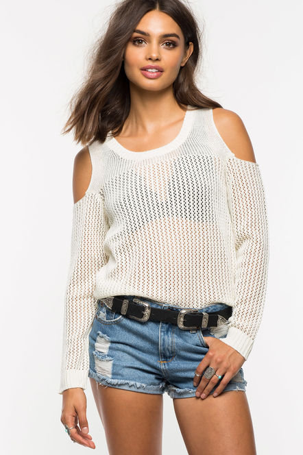 OFF THE SHOULDER -WHITE