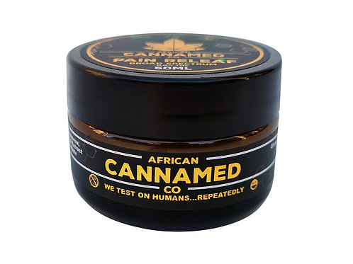 African Cannamed Pain Re-Leaf Cream Zero THC