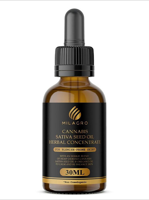 Milagro Cannabis Sativa Seed Oil Herbal Concentrate 30ml