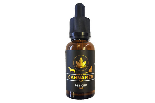 African Cannamed CBD Pet Oil Zero THC