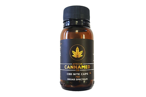 African Cannamed CBD Gel nite caps 30's