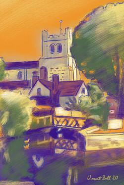 Waltham Abbey Church, Essex, England.