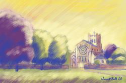 Waltham Abbey Church, Essex, England